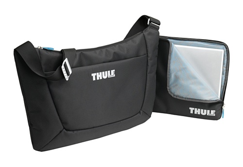 Thule Crossover Sling Messenger Bag-Black, 18.7 X 14 X 1.5-Inch front-886954