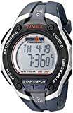 Timex Men's T5K416 Ironman Traditional 30-Lap Oversize Dark Blue Resin Strap Watch