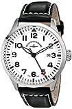 Zeno Men's 6569-515Q-A2 Navigator White Large Dial Watch