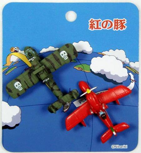Jibripti magnet set [Red pig: Ghibli fully!