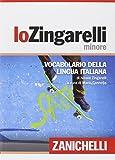 img - for Il nuovo Zingarelli minore. Vocabolario della lingua italiana (Italian Edition) book / textbook / text book