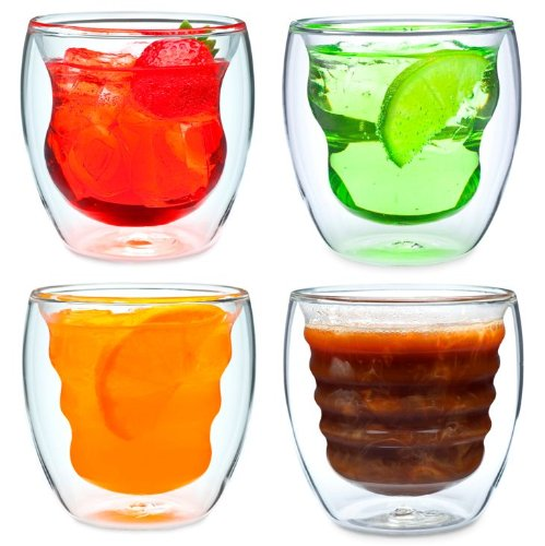 Curva Arisan Series Double Wall Beverage Glasses and Tumblers