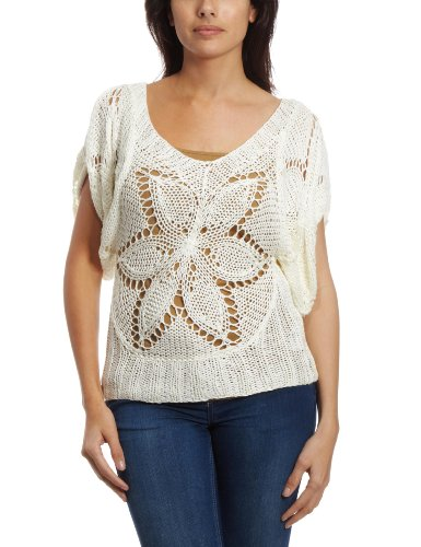 Yumi Manee Women's Jumper Cream Medium/Large