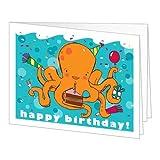 Amazon Gift Card - Print - Happy Birthday (Octopus)