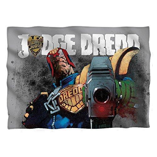Wicked Tees JUDGE DREDD LAST WORDS Pillow Case