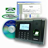 Fingerprint Time Clock System, 120/240V