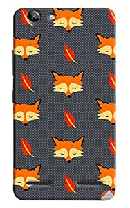 Omnam Wolf Printed Pattern Designer Back Cover Case For Lenovo Vibe K5 Plus