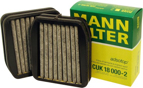 Mann-Filter CUK 18 000-2 Carbon Activated Cabin Filter