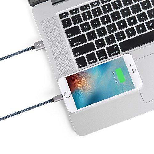 test surwell lightning zu usb kabel 2 pack 3m iphone. Black Bedroom Furniture Sets. Home Design Ideas