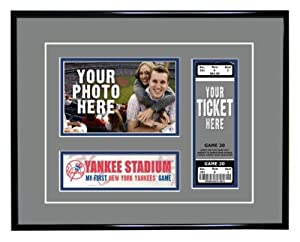 MLB New York Yankees My First Game Ticket Frame by That