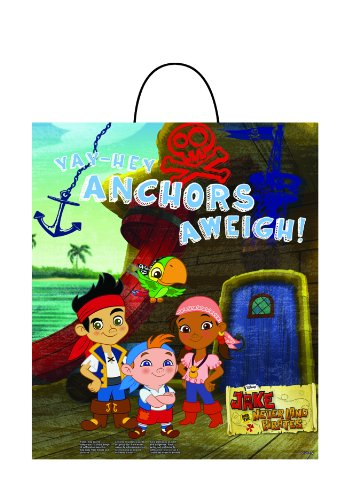 Disguise Disney Junior Jake and The Neverland Pirates Essential Treat Bag, Child
