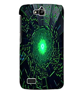 ColourCraft Abstract Image Design Back Case Cover for HUAWEI HONOR HOLLY