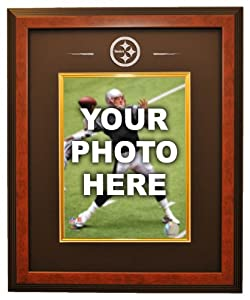 Pittsburgh Steelers 8x10 Photo Ready Made Frame System, Brown - Framed NFL Photos,... by Sports Memorabilia