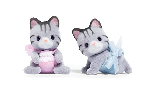 Critters Calico Cat Twins Fisher