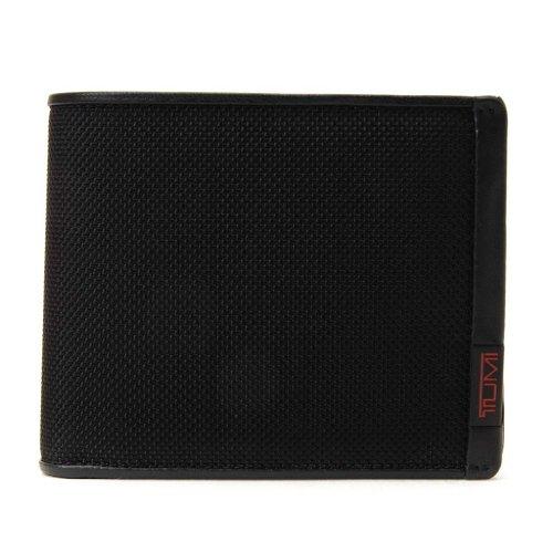 (トゥミ) TUMI 19237 ALPHA SLG コイン ウォレット/二つ折財布 ブラック [並行輸入品]