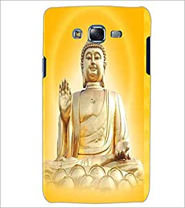 PrintDhaba Lord Buddha D-3306 Back Case Cover for SAMSUNG GALAXY J5 (Multi-Coloured)