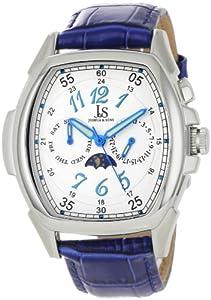 Joshua & Sons Men's JS715BU Swiss Quartz Multi-Function Watch
