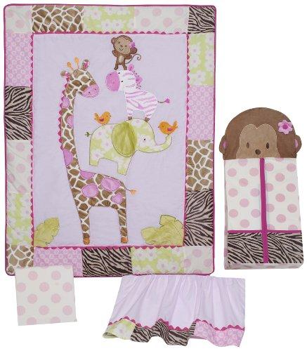 New Hot Products Carter S Jungle Jill 4 Piece Crib Bedding