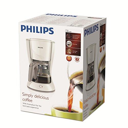 philips new daily kaffeemaschine aroma swirl mit abschaltautomatik glaskanne. Black Bedroom Furniture Sets. Home Design Ideas