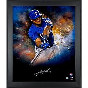 Adrian Beltre Texas Rangers Framed Autographed 20