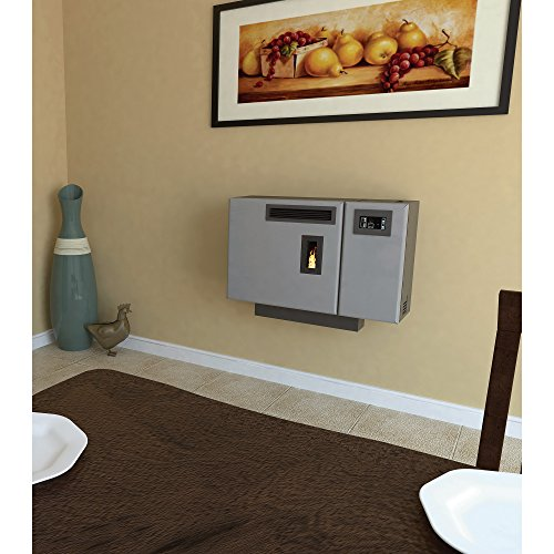 United States Stove Company Wall-Mount Pellet Stove - 24,000 BTU, Model# 4840