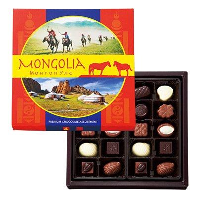 中国 お土産 モンゴルチョコレート 1箱