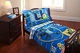 Baby/Infant/Child/Kid Disney Monsters Inc. University 4 Piece Toddler Bedding Set Newborn Gear