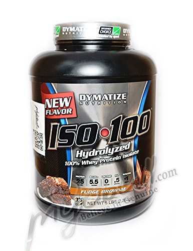 Dymatize ISO 100 Hydrolyzed - 5 lb Fudge Brownie