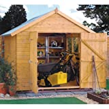 Rowlinsons Premier Range 12x8 Shed