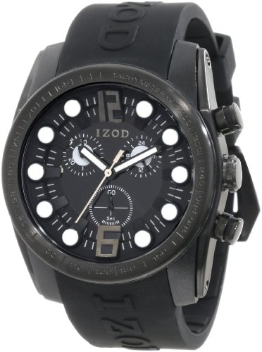 IZOD Men's IZS2/2 BLK/BLK Sport Quartz Chronograph Watch