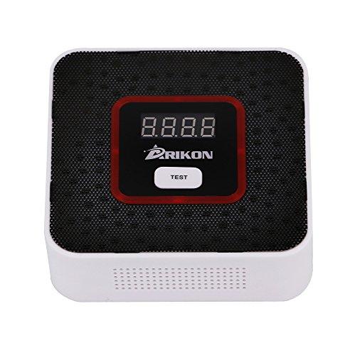 ARIKON Plug-In Combustible Gas Detector Alarm Sensor with Voice Warning,Digital Display (Carbon Monoxide Detector Black compare prices)