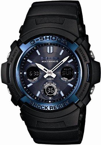 [カシオ]CASIO 腕時計 G-SHOCK ジーショック タフソーラー 電波時計 MULTIBAND 6 AWG-M100A-1AJF メンズ
