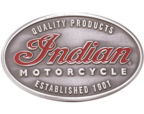 Indian Motorcycle Men's Emblem Belt Buckle by Indian Motorcycle