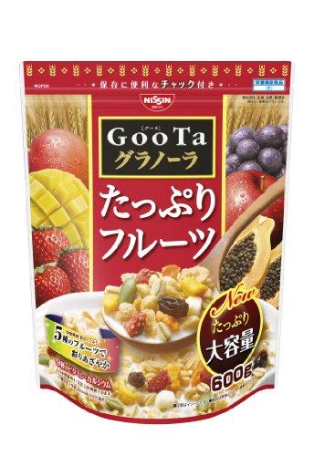 日清シスコ GooTaグラノーラたっぷりフルーツ 600g