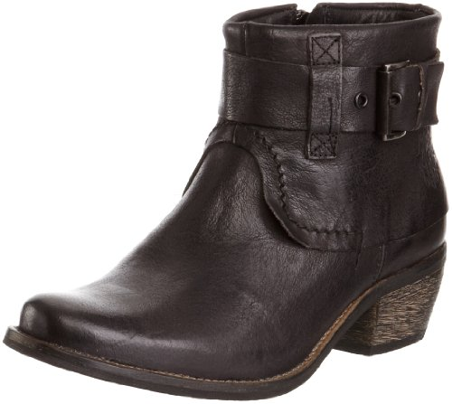 Maruti Women's Valeria Black Leather Ankle Boot 66.30119.2027 3.5 UK