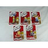 The Simpsons 5 Piece Figurine Set