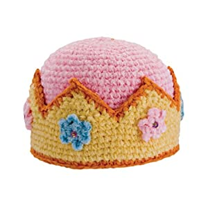 San Diego Hat Company Chenille Crown Hat, Pink, 0-6 Months