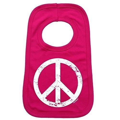 123t-Baby-PEACE-DESIGN-Baby-Ltzchen-Einheitsgre-hot-pink