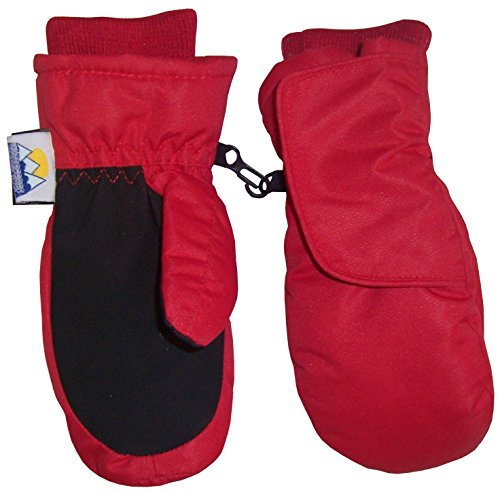 nice-caps-kids-easy-on-thinsulate-waterproof-velcro-wrap-mitten-5-6-years-red