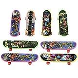 Lvzun Mini Finger Skateboard Toy Boy Kids Children Gift -8pack (Random Pattern)
