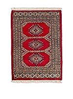 CarpeTrade Alfombra Kashmir (Rojo/Multicolor)