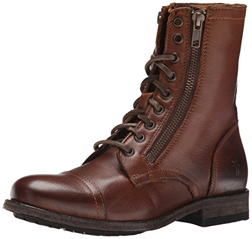 frye-womens-tyler-double-combat-boots-brown-size-5-uk