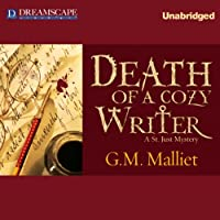 Death of a Cozy Writer: A St. Just Mystery (       UNABRIDGED) by G. M. Malliet Narrated by Davina Porter