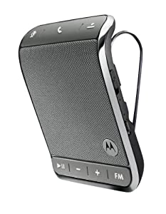 Motorola Roadster 2 Universal Bluetooth In-Car Speakerphone - Retail Packaging - Silver