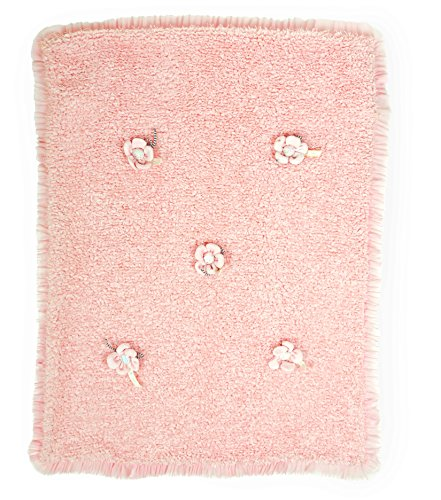 Bunnies By The Bay Pretty Posy Blanket, Pink