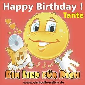 Happy Birthday ! Das Pop Geburtstagslied für Tante