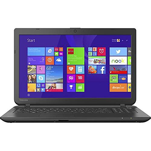 Toshiba Satellite C55-B5302 Laptop 15.6-Inch (Intel Celeron Processor N2840, 4GB RAM, 500GB Hard Drive, Multiformato DVD±RW / CD-RW, Finestre 8.1)