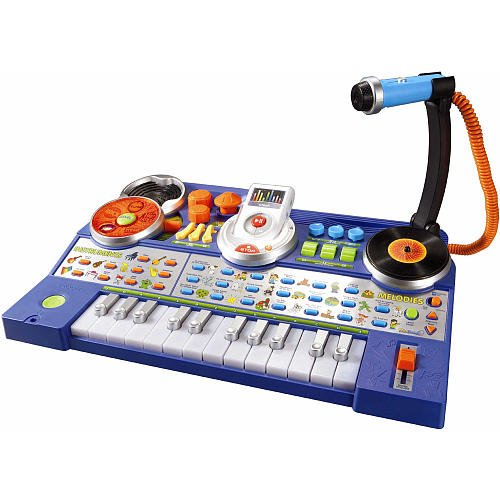 Vtech Kidijamz Studio interactive music station that lets kids record their own songs and music and play it back on a detachable music player