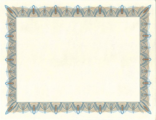 greatpapers com templates - geographics classic blue parchment certificates with foil