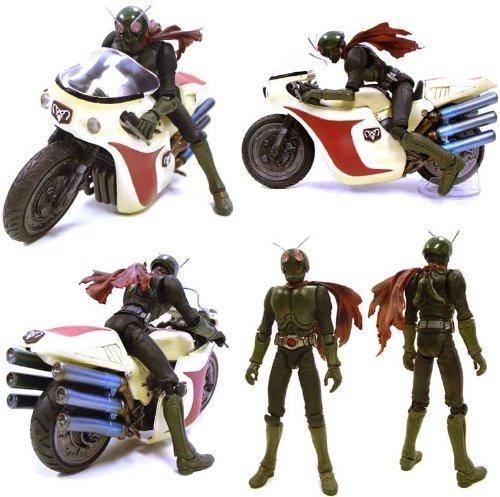 Kamen Rider 1 SIC Figure & Cyclone Bike Set